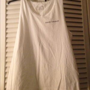 Men's White Under Armor T-Shirt